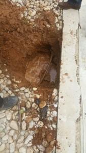 נזילה תת קרקעית