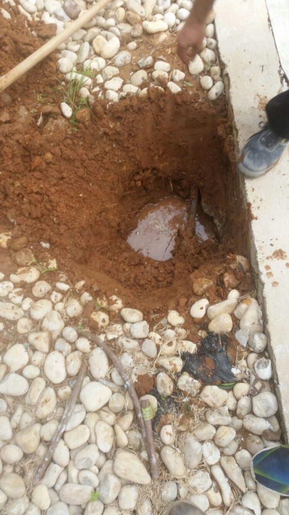 גילוי מקור נזילה תת קרקעית